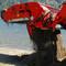 Eterra Skid Steer Beach Cleaner Beach Master dumping Action