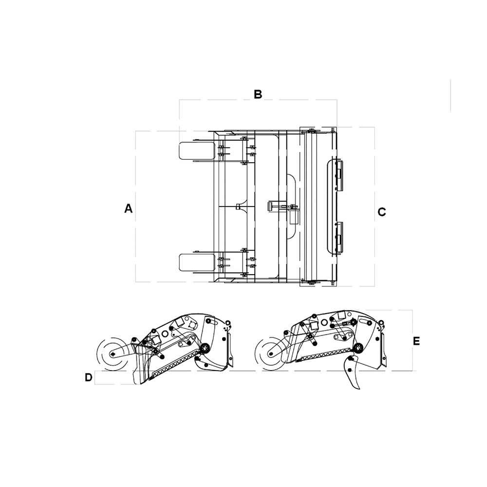 Door Closure Wiring Diagram 279c Cat Blog About Diagrams Skid Steer Beach And Arena Cleaner Attachment Solutions 299d For Rake
