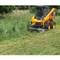 Virnig Brush Cutter Deck Mower Skid Steer Attachment in Action