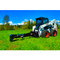 Eterra E70 Skid Steer Backhoe in Field