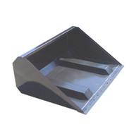 Telehandler Fork Slot Bucket Attachment front view
