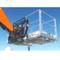 Haugen Galvanized Work Platform Telehandler Attachment Machine View
