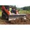 Bradco Skid Steer Tilting Dozer Blade Moving Dirt