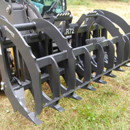 Bradco Skid Steer Root Rake Attachment
