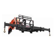 Haugen Telehandler Adjustable Fork Mounted Spreader Bar Attachment for Forklift or Telehandler