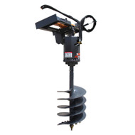 Order the McMillen Auger Attachment from Skid Steer Solutions and enjoy the most reliable Auger system in the market today.  (Does not include auger bit)