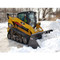 FFC Skid Steer Snow Bucket Attachment Snow Clearing