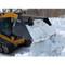 FFC Skid Steer Snow Bucket Attachment Snow Dumping