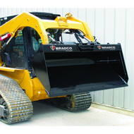 Bradco Skid Steer Low Profile Bucket Attachment