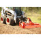 Eterra Skid Steer 3-Point Adapter Tiller In Dirt