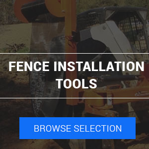 fence installation attachments