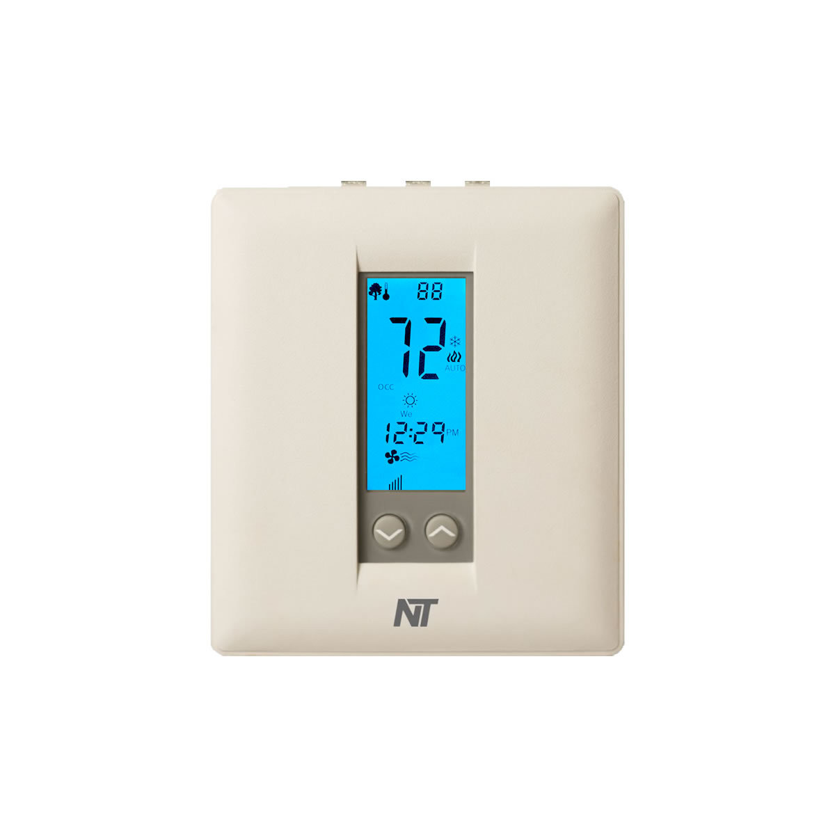 Rp32h-wifi Wi-fi Programmable Thermostat W   Humidity Control