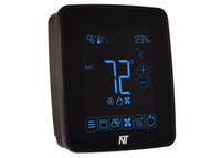 X5H-IP-B Touchscreen Ethernet Programmable Thermostat (Black)
