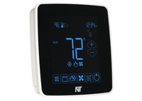 X5H-IP-W Touchscreen Ethernet Programmable Thermostat (White)