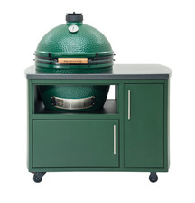Big Green Egg Compact Custom Cooking Island