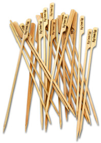 All Natural, Eco-Friendly Bamboo Skewers