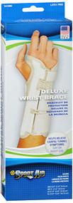 Sport Aid Deluxe Wrist Brace Large Right - 1 ea.