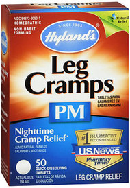 Hyland's Leg Cramps PM Tablets - 50 ct
