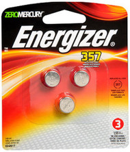 Energizer Watch/Electronic Batteries 357 - 3 ct