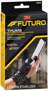 futuro thumb stabilizer how to use