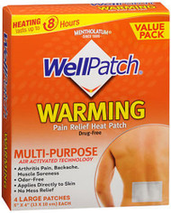 WellPatch Deep Heating Warming Patch - 4 ct