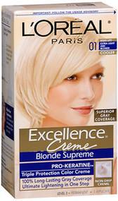 L'Oreal Excellence Creme Blonde Supreme - 01 Extra Light Ash Blonde (Cooler)