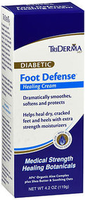 TriDerma MD Diabetic Foot Defense Healing Cream - 4.2 oz