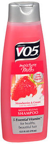 VO5, Moisture Milks, Moisturizing Shampoo, Strawberries & Cream - 12.5 oz