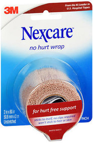 Nexcare No Hurt Wrap 2 in x 80 in - 1 Each