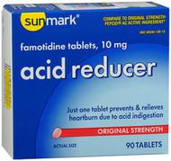 Sunmark Acid Reducer 10 mg Tablets - 90 ct