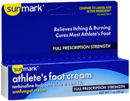 Sunmark Athlete's Foot Cream Full Prescription Strength - 1 oz