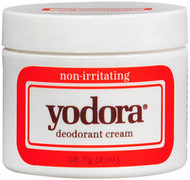Yodora Deodorant Cream, non-irritating - 2 oz