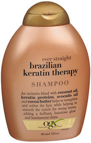 OGX Ever Straight Shampoo Brazilian Keratin Therapy - 13 oz