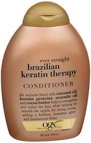 Ogx Ever Straight Conditioner Brazilian Keratin Therapy - 13 oz