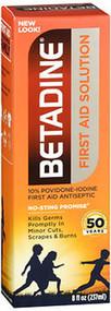 Betadine First Aid Solution - 8 oz