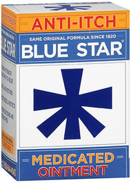 Blue Star Anti-Itch Medicated Ointment - 2 oz