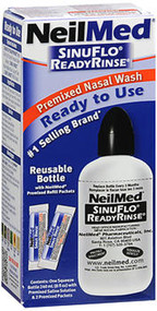 NeilMed SinuFlo ReadyRinse Premixed Nasal Wash - 8 oz
