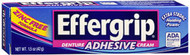 Effergrip Denture Adhesive Cream - 1.5 oz