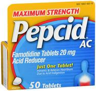 Pepcid AC Tablets Maximum Strength - 50 ct