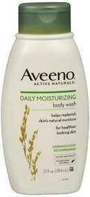 Aveeno Active Naturals Daily Moisturizing Body Wash - 12 oz