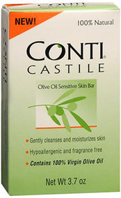 Conti Castile Olive Oil Sensitive Skin Bar - 3.7oz