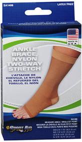 Sport Aid Ankle Brace Large Beige SA1406 - 1 brace