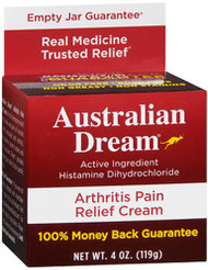 Australian Dream Arthritis Pain Relief Cream - 4oz