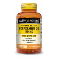 Mason Natural Peppermint Oil 50 mg Enteric Coated Softgels - 90 Softgels