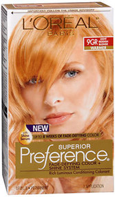 L'Oreal Superior Preference - 9GR Light Reddish Blonde (Warmer)