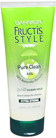 Garnier Fructis Style Pure Clean Styling Gel Extra Strong - 6.8 OZ