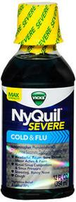 Vicks NyQuil Severe Cold & Flu Liquid - 12 oz