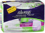 Always Discreet Underwear Maximum Absorbency Size Small/Medium - 3pks of 19