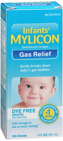Mylicon Infants' Gas Relief Dye Free Drops - 1 oz