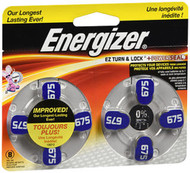Energizer 675 Zinc Air Hearing Aid Batteries - 8pk